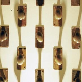 Detail of door knobs