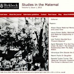 Studies in the Maternal: Volume 4
